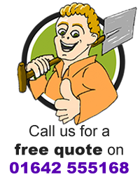 Call us for a free quote on 01642 555 168
